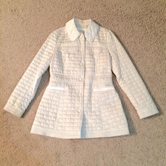 Laundry By Design Jackets Coats Cream Quilted Jacket Nwot Poshmark
